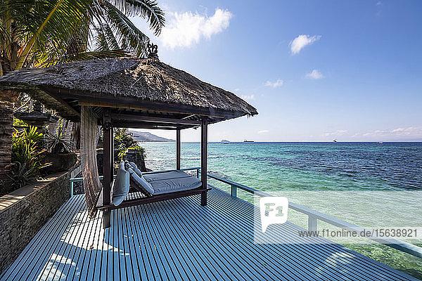 Beachfront of Villa Nilaya; Mendira  Bali  Indonesia