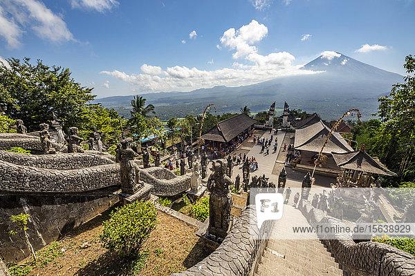 Pura Lempuyang temple; Bali  Indonesia
