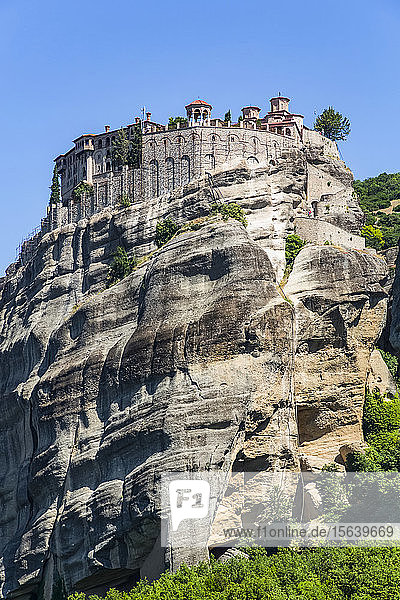 Holy Monastery of Varlaam  Meteora; Thessaly  Greece