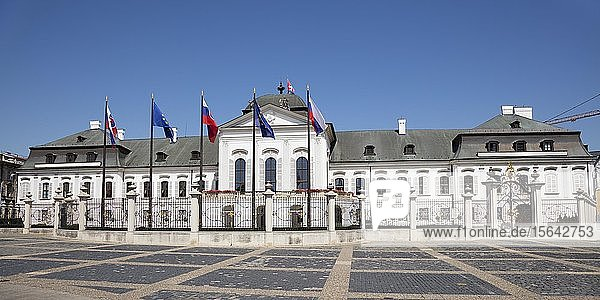 Präsidentenpalais  Palais Grassalkovich  Bratislava  Slowakei  Europa