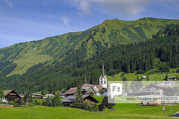 Riezlern  Kleinwalsertal  Allgäu  Vorarlberg  Österreich  Europa