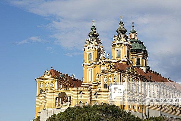Benediktinerabtei Stift Melk  UNESCO-Weltkulturerbe  Melk  Wachau  Niederösterreich  Österreich  Europa