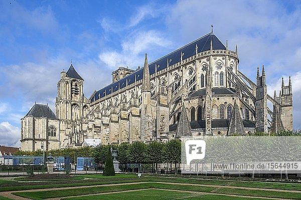 Bourges Kathedrale  Department Cher  Region Centre-Val de Loire  Frankreich  Europa