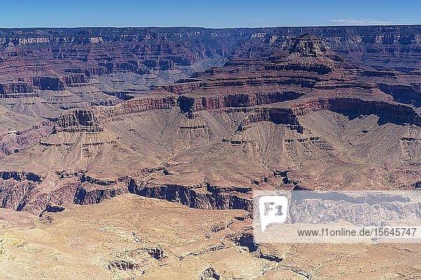 Canyonlandschaft  South Rim  Grand Canyon  Grand Canyon Nationalpark  Arizona  USA  Nordamerika