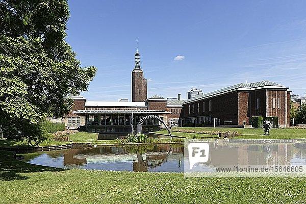 Museumpark  Museum Boijmans Van Beuningen  Rotterdam  Zuid-Holland  Niederlande  Europa