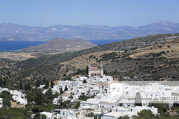 Church of Agia Triada (Holy Trinity)  Lefkes Village  Paros Island  Cyclades Group  Greek Islands  Greece
