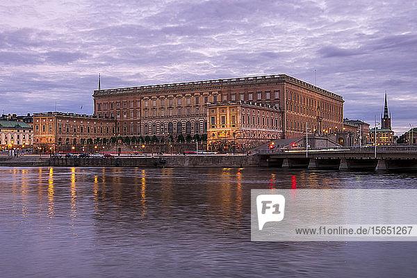 The Kungliga Slottet (the Royal Palace)  Stockholm  Sweden  Scandinavia
