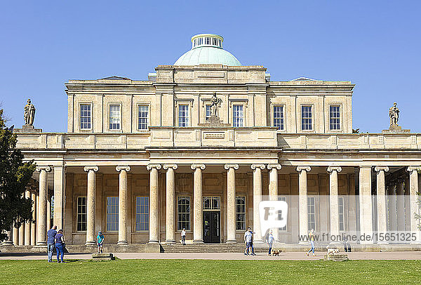 Cheltenham Pittville Pump Room  Pittville Park  Cheltenham Spa  Gloucestershire  England  United Kingdom  Europe