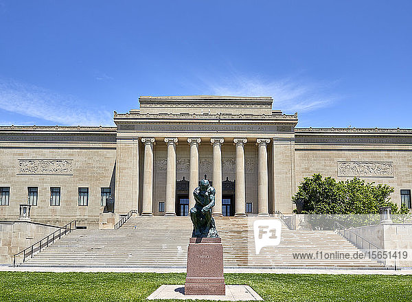The Nelson Atkins Museum of Art in Kansas City  Missouri  United States of America  North America
