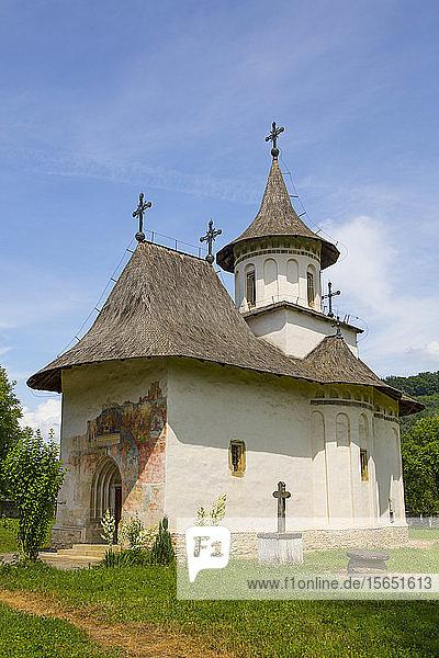 Church of the Holy Cross  1487  UNESCO World Heritage Site  Patrauti  Suceava County  Romania