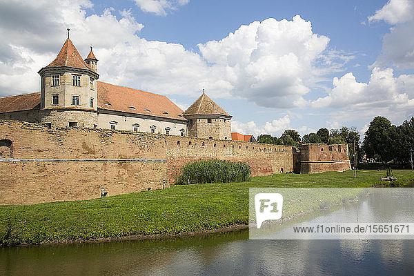 Fagaras Citadel  14th Century  Fagaras  Brasov County  Transylvania Region  Romania