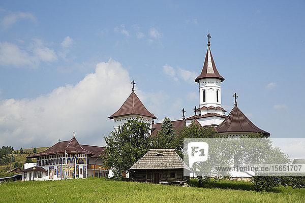 Orthodox Monastery  Gura Humorului  Suceava County  Romania