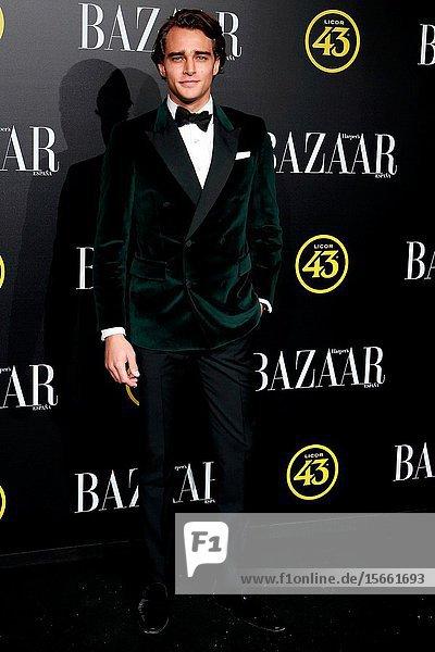 Pepe Barroso attend the Harper's Bazaar awards in Palacio de Santoña  Madrid (Spain).November 5  2019..