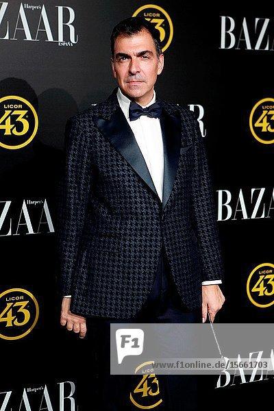 .the chef Ramon Freixa attend the Harper's Bazaar awards in Palacio de Santoña  Madrid (Spain).November 5  2019..