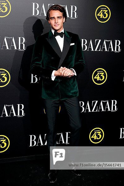 Pepe Barroso attend the Harper's Bazaar awards in Palacio de Santoña  Madrid (Spain).November 5  2019..