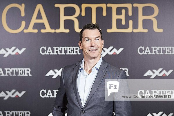 Jerry O'Connell attends 'Carter' AXN TV series photocall at URSO Hotel on November 7  2019 in Madrid  Spain