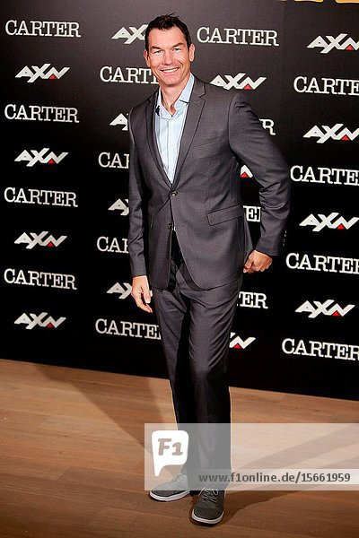 Actor Jerry O'Connell attends the photocall of the TV series 'Carter' AXN.7 November 2019 Madrid (Spain).