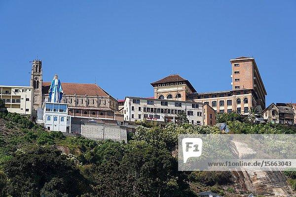 Cathedrale catholique d Andohalo  Antananarivo  Madagascar