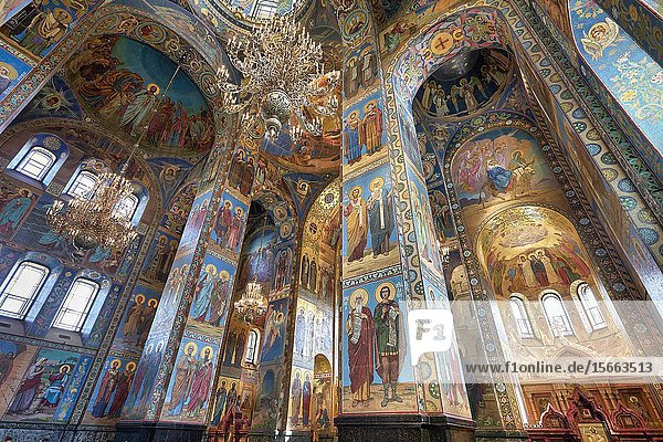 St. Petersburg Russia. Church of the savior on the spilled blood.