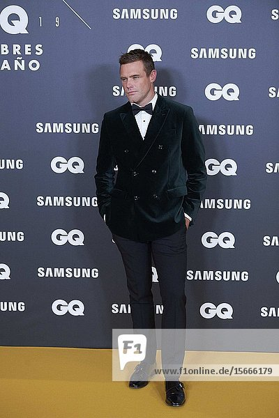 Nick Youngquest attends GQ Men of the Year Awards 2019 at Palace Hotel on November 21  2019 in Madrid  Spain