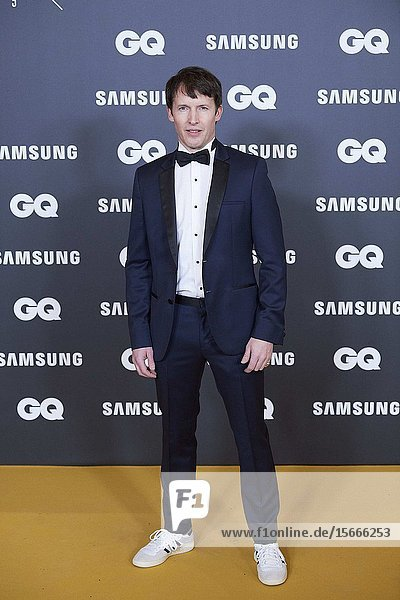 James Blunt attends GQ Men of the Year Awards 2019 at Palace Hotel on November 21  2019 in Madrid  Spain