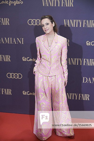 Andrea Levy attends the Vanity Fair 'Person of the year 2019' at Royal Theatre on November 25  2019 in Madrid  Spain