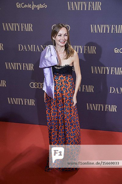 Sharon Corr attends the Vanity Fair 'Person of the year 2019' at Royal Theatre on November 25  2019 in Madrid  Spain