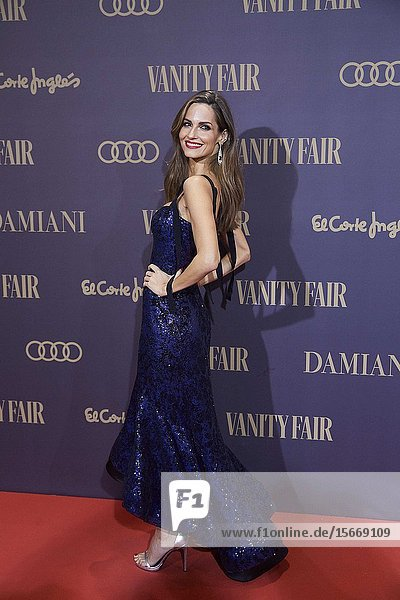 Ariadne Artiles attends the Vanity Fair 'Person of the year 2019' at Royal Theatre on November 25  2019 in Madrid  Spain