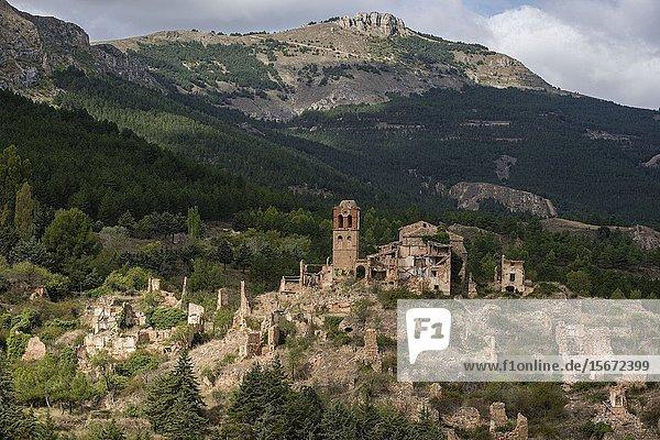 Turruncún  sierra de Préjano  La Rioja   Spain  Europe.