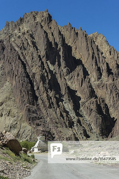 Rugged Mountains  Leh manali Road  Ladakh  India.