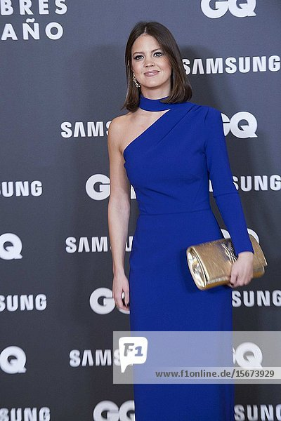 Isabelle Junot attends GQ Men of the Year Awards 2019 at Palace Hotel on November 21  2019 in Madrid  Spain
