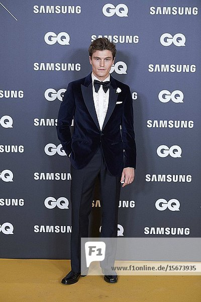 Oliver Cheshire attends GQ Men of the Year Awards 2019 at Palace Hotel on November 21  2019 in Madrid  Spain