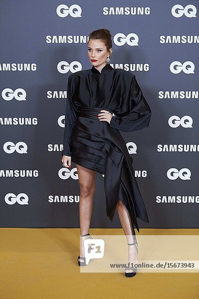 Valentina Zenere attends GQ Men of the Year Awards 2019 at Palace Hotel on November 21  2019 in Madrid  Spain
