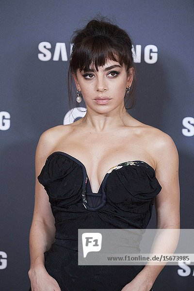 Charlie XCX attends GQ Men of the Year Awards 2019 at Palace Hotel on November 21  2019 in Madrid  Spain