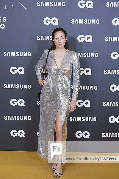 Sandra Delaporte attends GQ Men of the Year Awards 2019 at Palace Hotel on November 21  2019 in Madrid  Spain