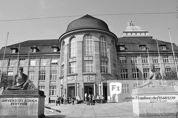 Switzerland: The University of Zürich city.