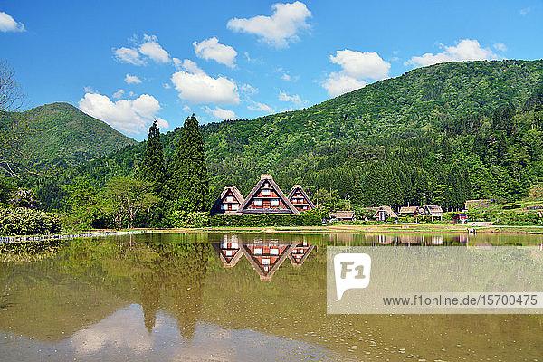 Shirakawa-go Village  Gifu Prefecture  Japan