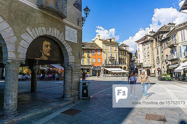 Italy  Piedmont  Domodossola  Piazza del Mercato