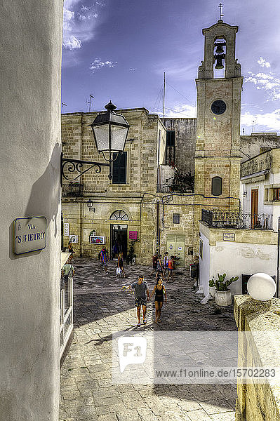 Italy  Apulia  Otranto  old town