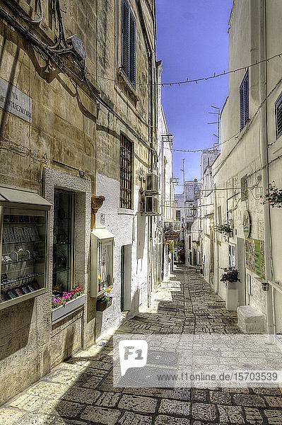 Italy  Apulia  Ostuni  old town