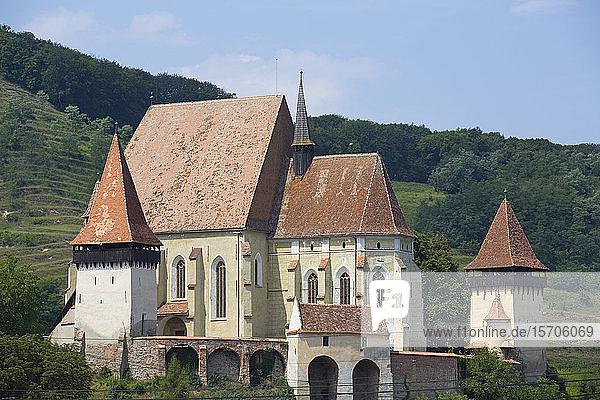 Biertan Fortified Church  15th century  UNESCO World Heritage Site  Biertan  Sibiu County  Romania  Europe