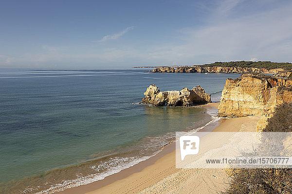 Strand  Praja da Rocha  Algarve  Portugal