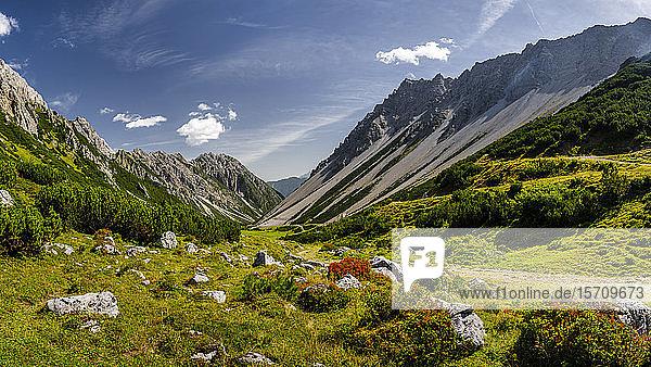 Österreich  Tirol  Hahntennjochpass in den Lechtaler Alpen