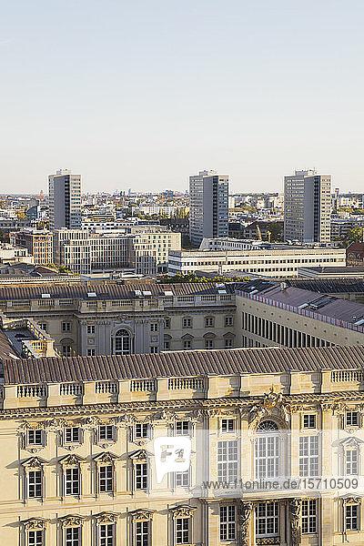 Deutschland  Berlin  Luftaufnahme des Museums des Humboldt-Forums