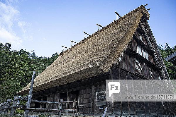 Japan  Takayama  Traditionelles Haus des Hida-Volkendorfes