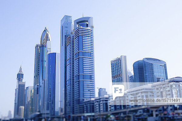 UAE  Dubai  Skyscrapers