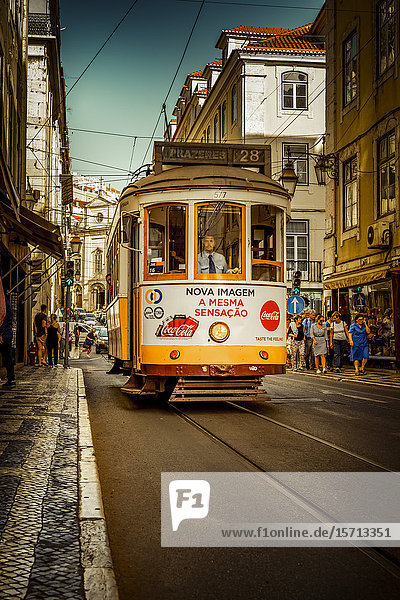 Funicular  Lisbon  Portugal  Europe