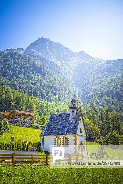 Chapel  Tyrol  Austria  Europe