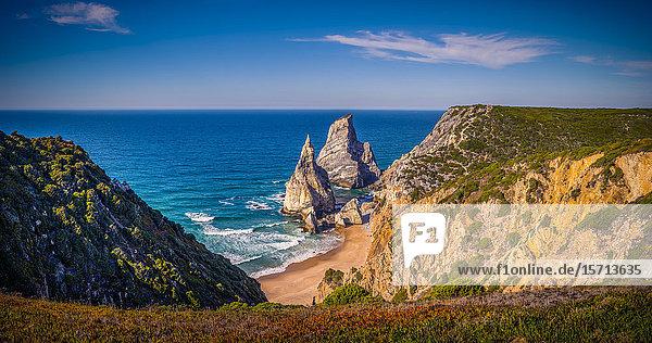 Cabo da Roca and Ursa Beach  Sintra Cascais Natural Park  Portugal  Europe