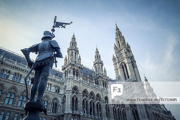 Town hall  Vienna  Austria  Europe